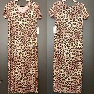 NWT Hye Park & Lune Capella Leopard Print Dress